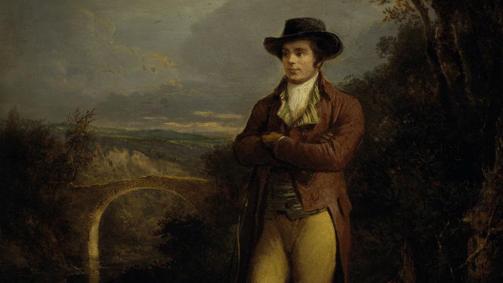Robert Burns By Alexander Nasmyth/WikiCommons