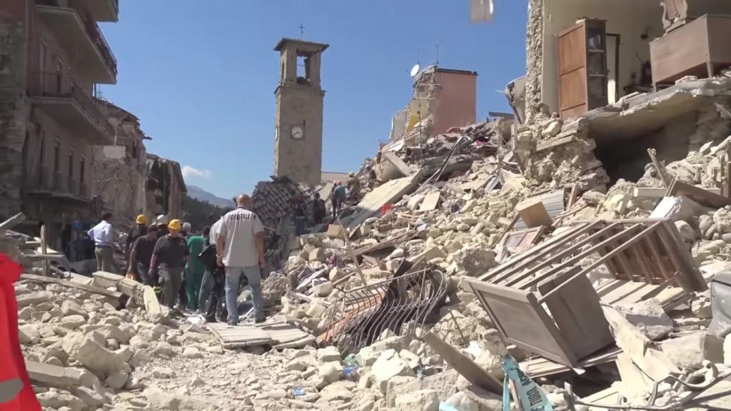 Amatrice earthquake | © WikiCommons