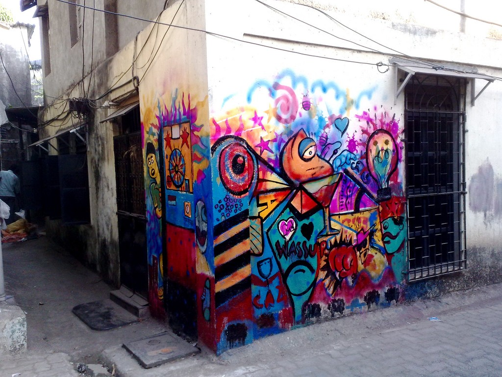 Street Art In Bandra ©SatishKrishnamurthy/Flickr