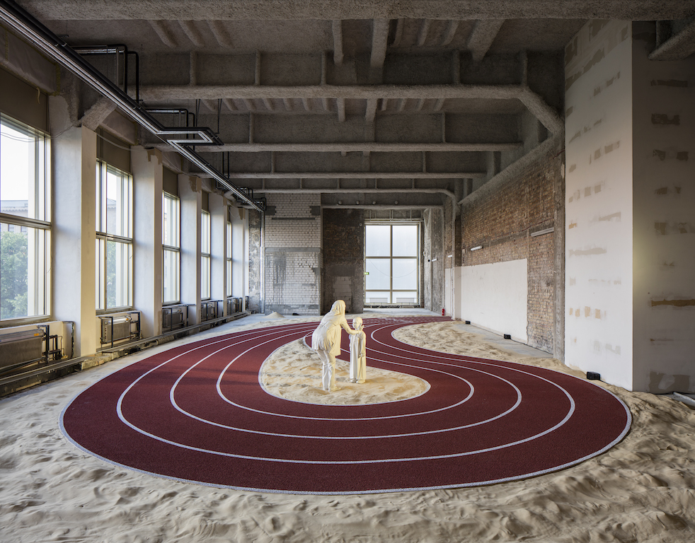 "Installation view of ""Positive Pathways (+),"" 2016. © GCC. Courtesy of GCC; Kraupa-Tuskany Zeidler, Berlin; Project Native Informant, London; Mitchell-Innes & Nash, NY. Photo: Timo Ohler"