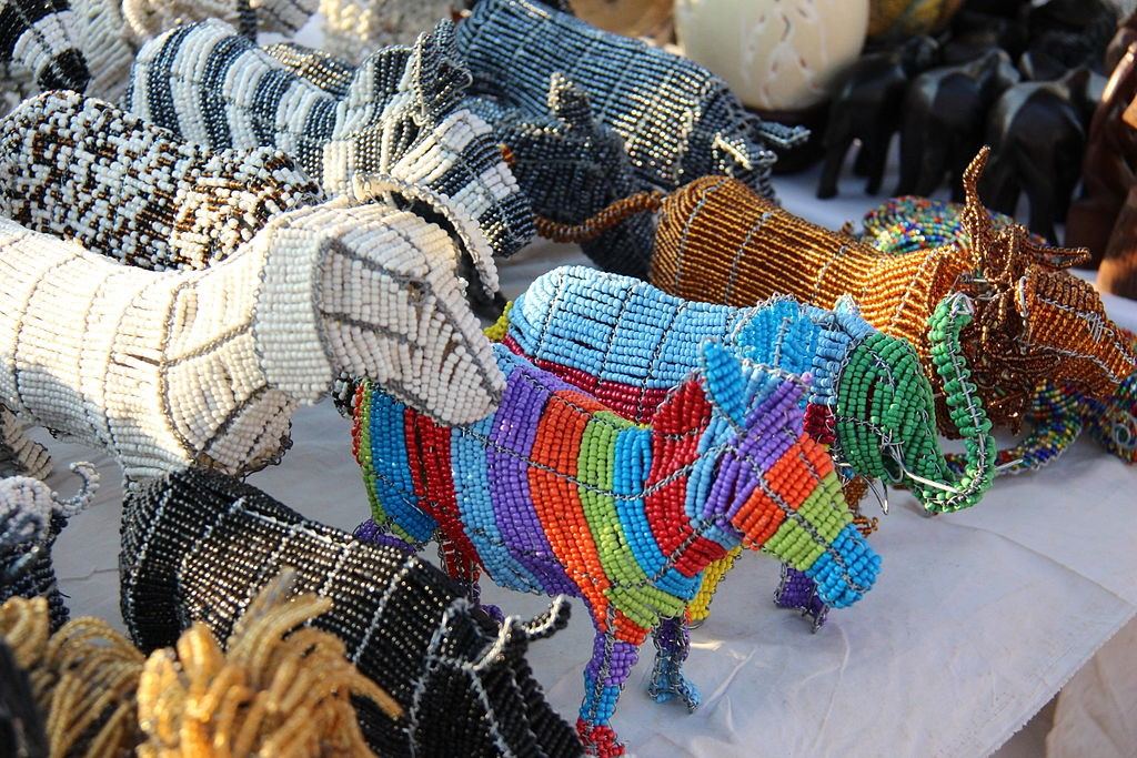 Beaded wire art © Aurobindo Ogra/WikiCommons