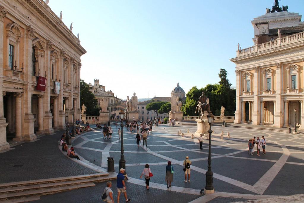 Piazza del Campidoglio | © Flickr/antonellaprof