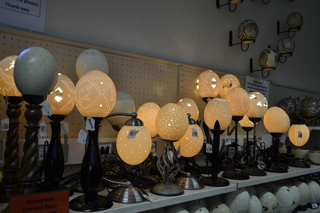 Unique souvenirs to pick up in cape town for Kitchen lights cape town