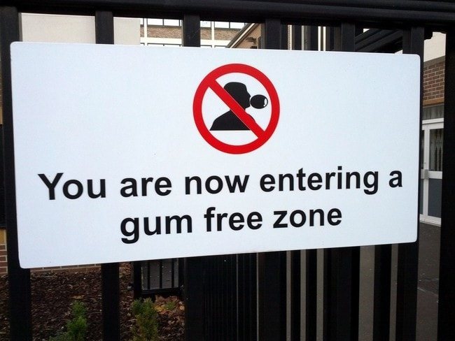 Why Singapore Banned Chewing Gum
