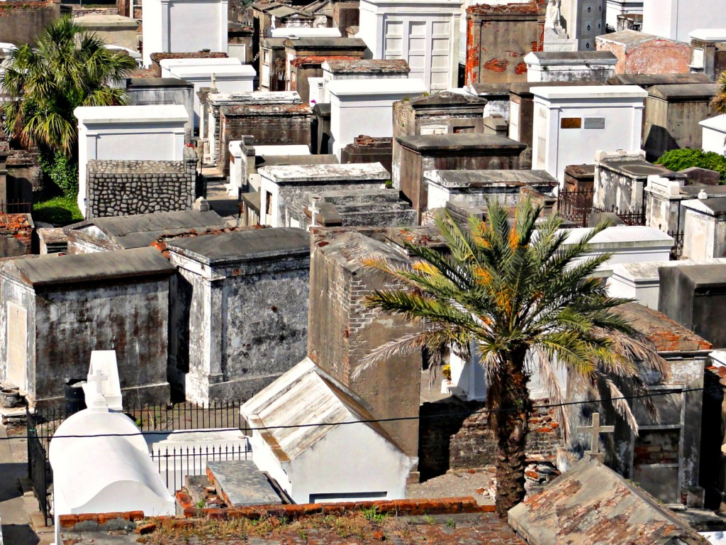 St. Louis Cemetery 1, New Orleans | © Bart Everson/WikiCommons