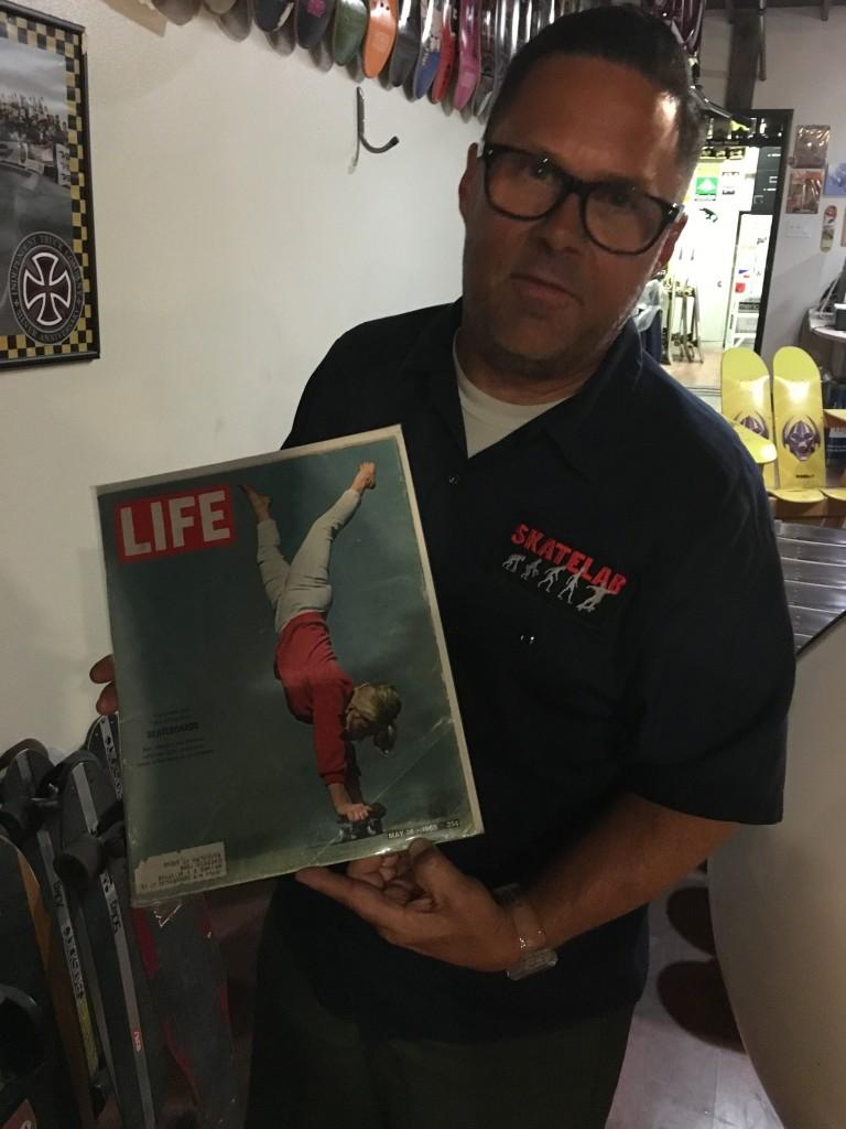 Skatelab co-owner Todd Huber | Courtesy of Stephen A. Cooper