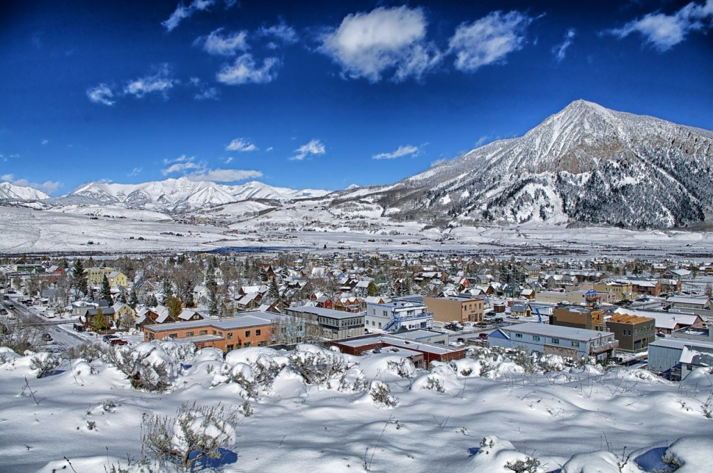 Crested Butte, CO   Public Domain/Pixabay