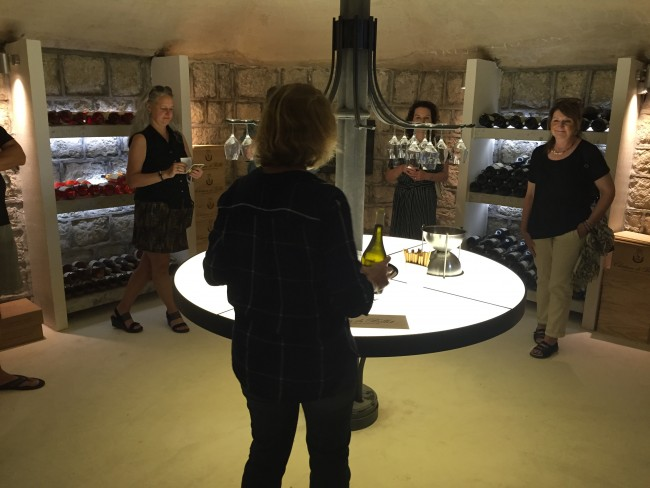 Crypt Wine Tasting in Bellet/Courtesy of Grape Tour