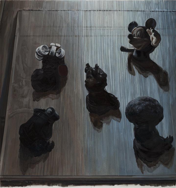 Wang Zibo, 'Ecstasy', 2016, Oil on linen, 170x180cm  Courtesy of Edouard Malingue Gallery