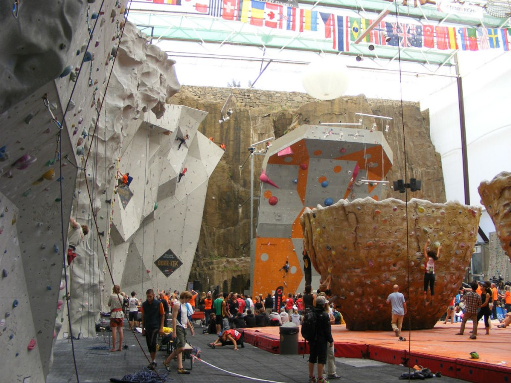 Edinburgh International Climbing Arena | © Les Ailes du Desir/WikiCommons
