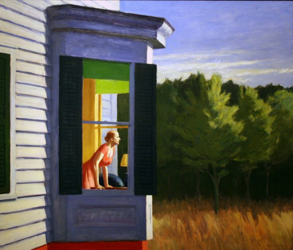 "Edward Hopper ""Cape Cod Morning"" 