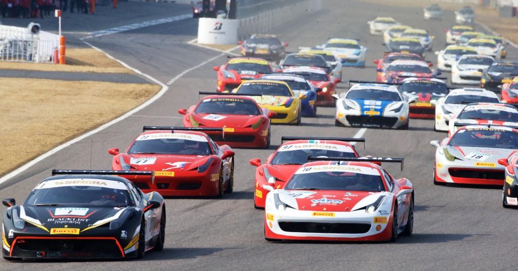2016 Ferrari Challenge | Courtesy of Singapore Grand Prix