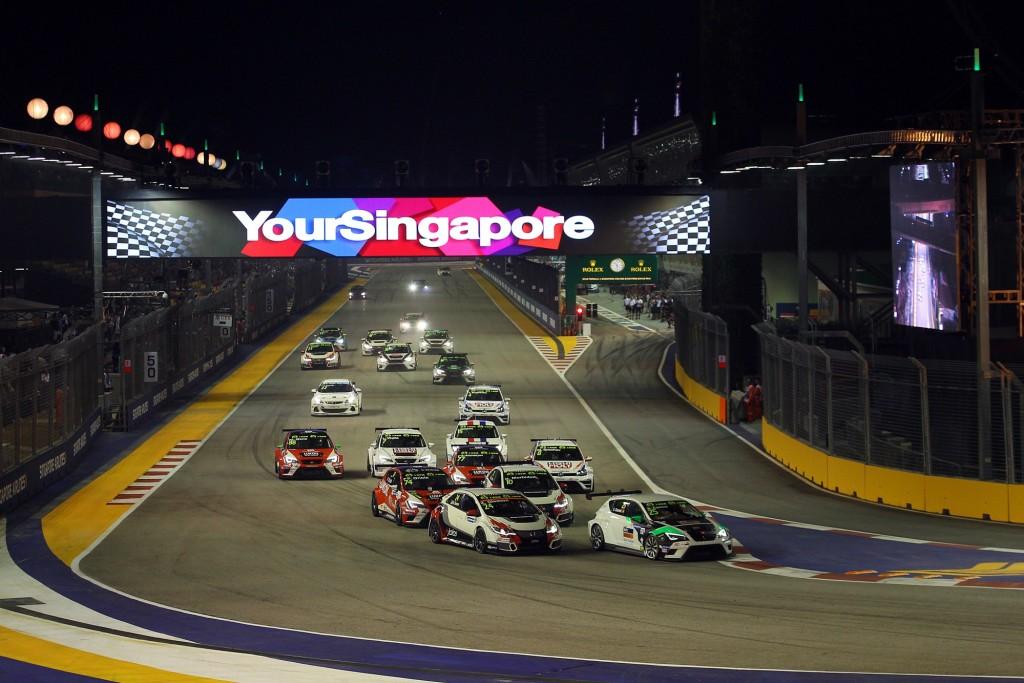 TCR International | Courtesy of Singapore Grand Prix