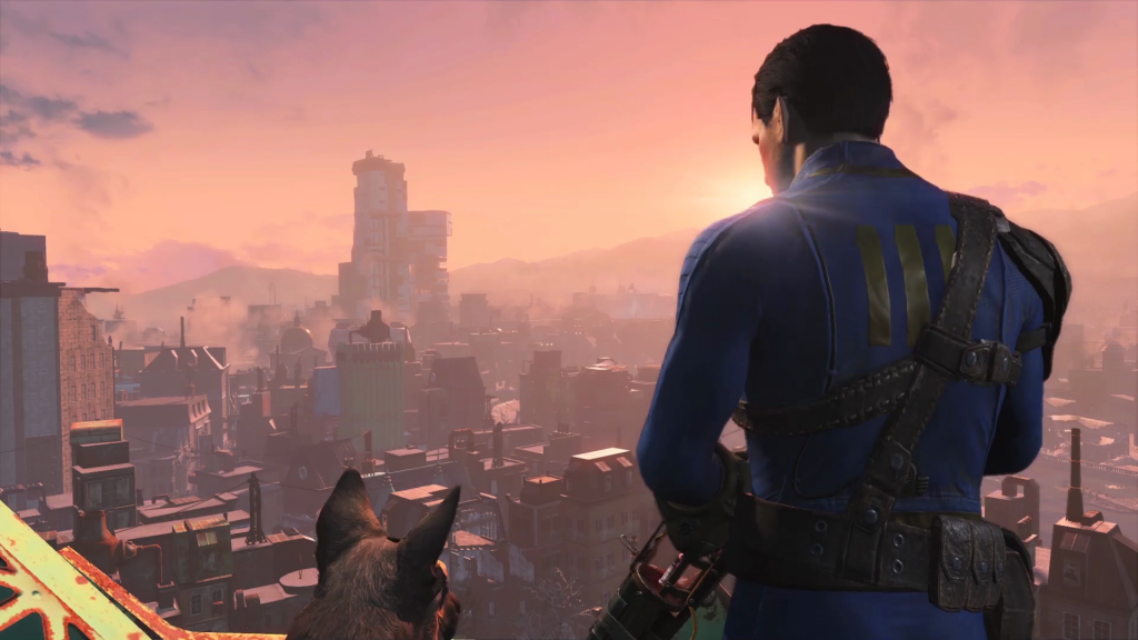Fallout 4 City Vista | © Bethesda