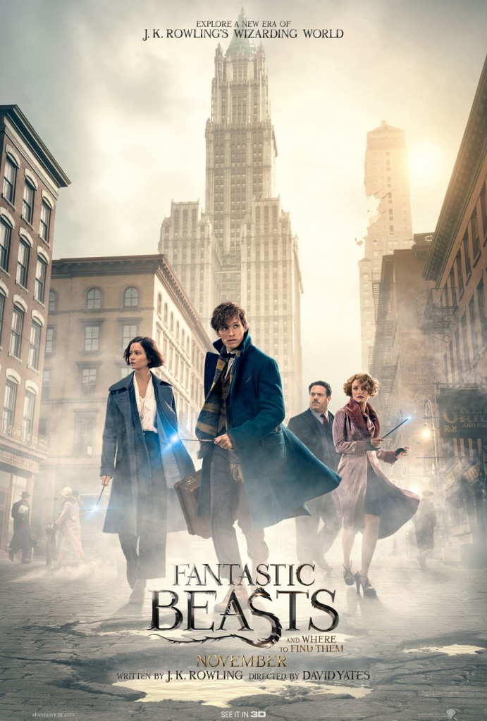 Final Poster for Fantastic Beasts And Where To Find Them | © Warner Bros.