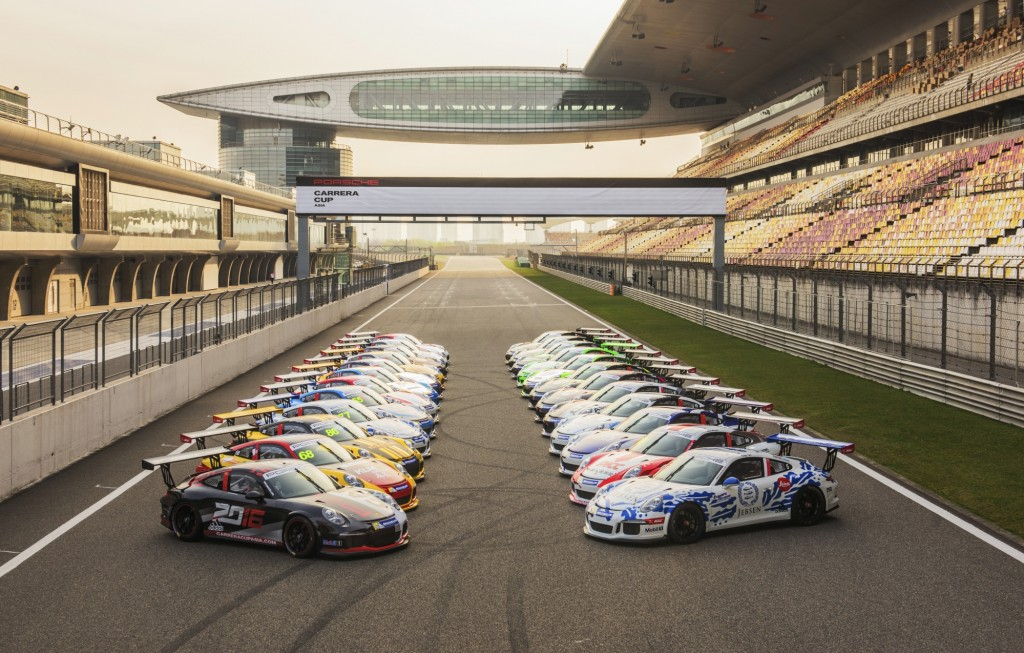 Porsche Carrera Cup | Courtesy of Singapore Grand Prix