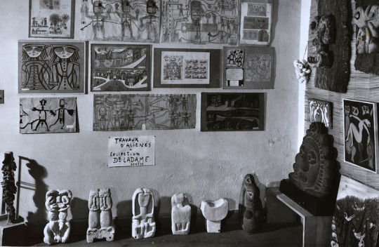 Foyer d'Art Brut, 1948. Courtesy of The Gallery of Everything