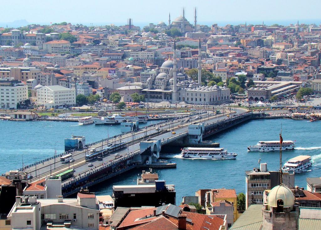 Bosphorus Bridge Istanbul Pharos