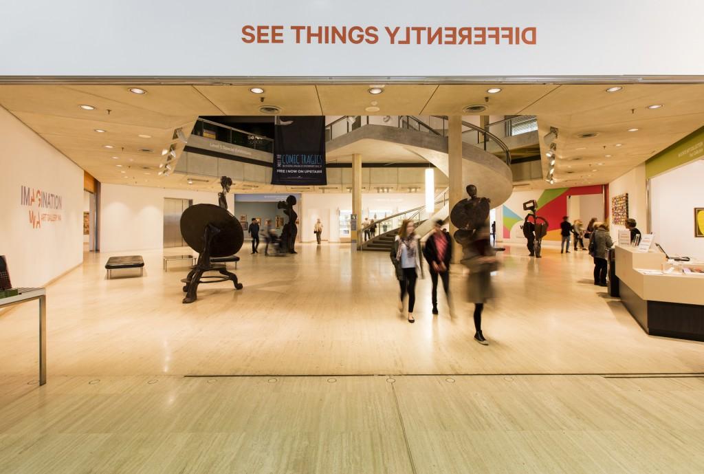 Gallery building | Courtesy of Art Gallery of Western Australia