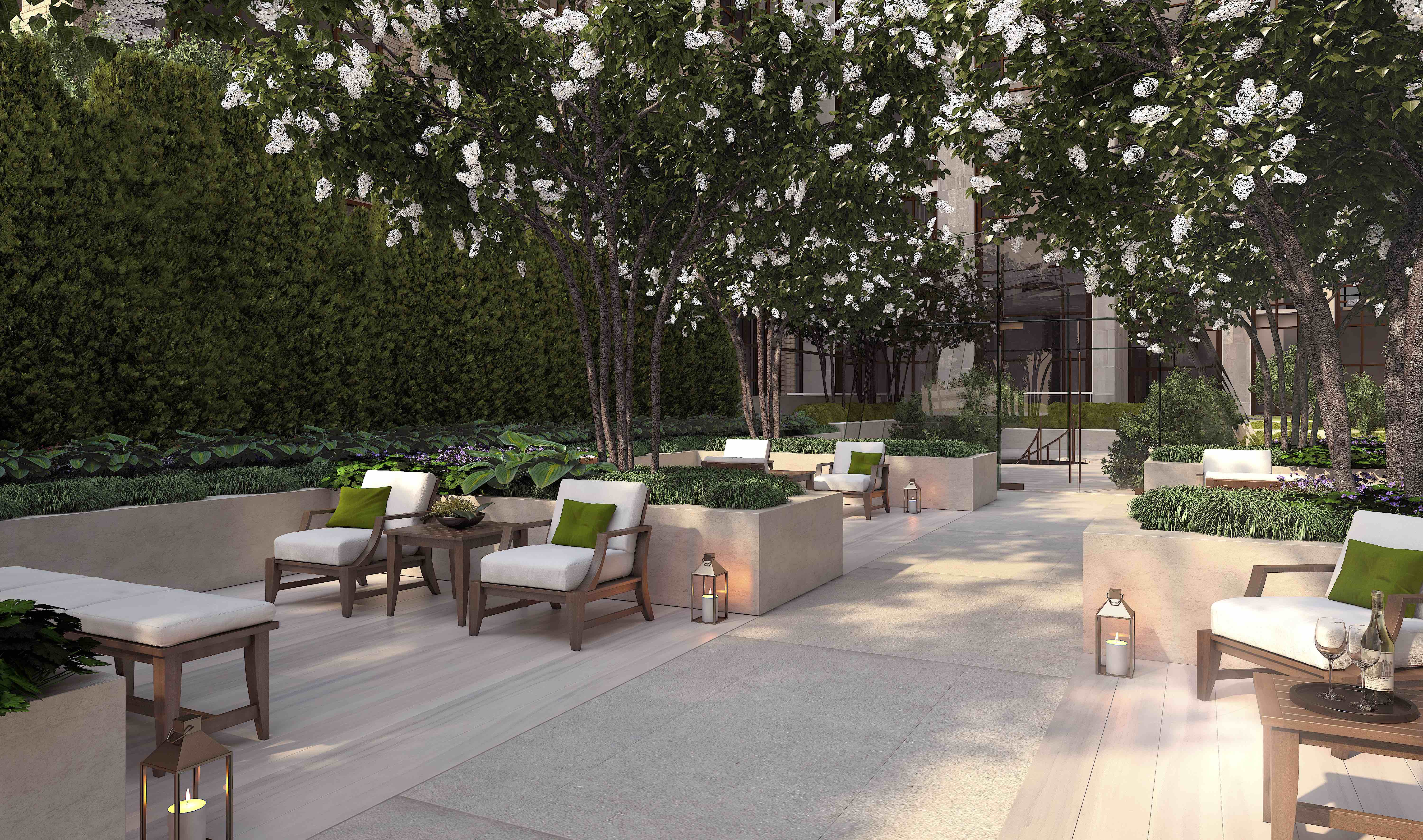 Gramercy Square Courtyard © Gramercy Square