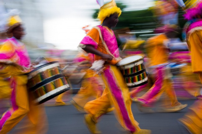Drummers at a Caribbean Carnival|©Mstyslav Chernov/Wikicommons