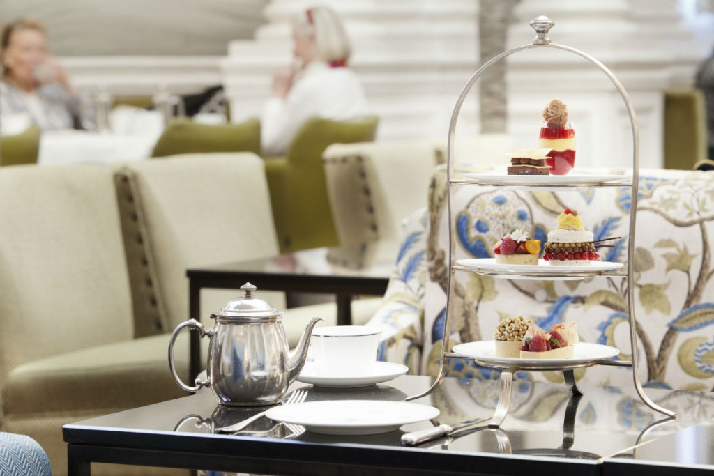 Palm Court at The Balmoral - Afternoon Tea | Courtesy Of Rocco Forte Hotels