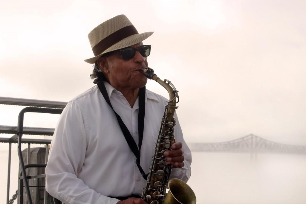 Jazz Musician, courtesy of Rebeca Trejo