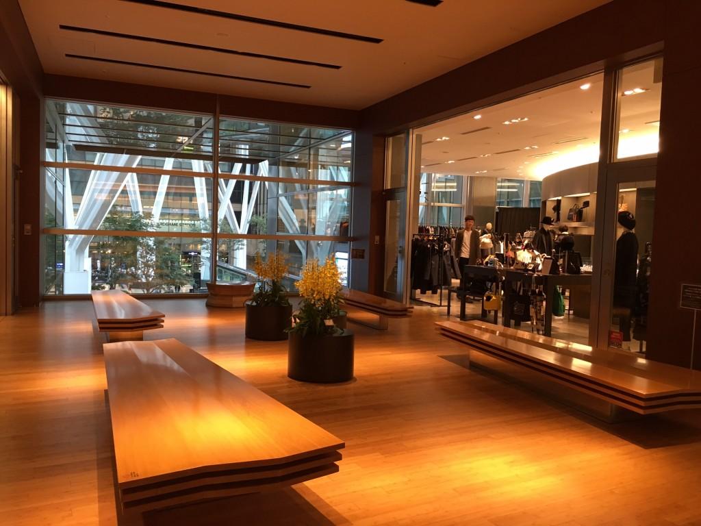 Inside Tokyo Midtown mall in Roppongi | © Alicia Joy