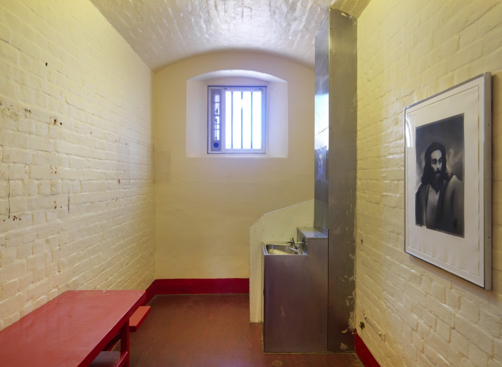 Pieces by Richard Hamilton, Finn MacCool (1983) in Inside: Artists and Writers in Reading Prison ©Marcus J Leith/ Artangel