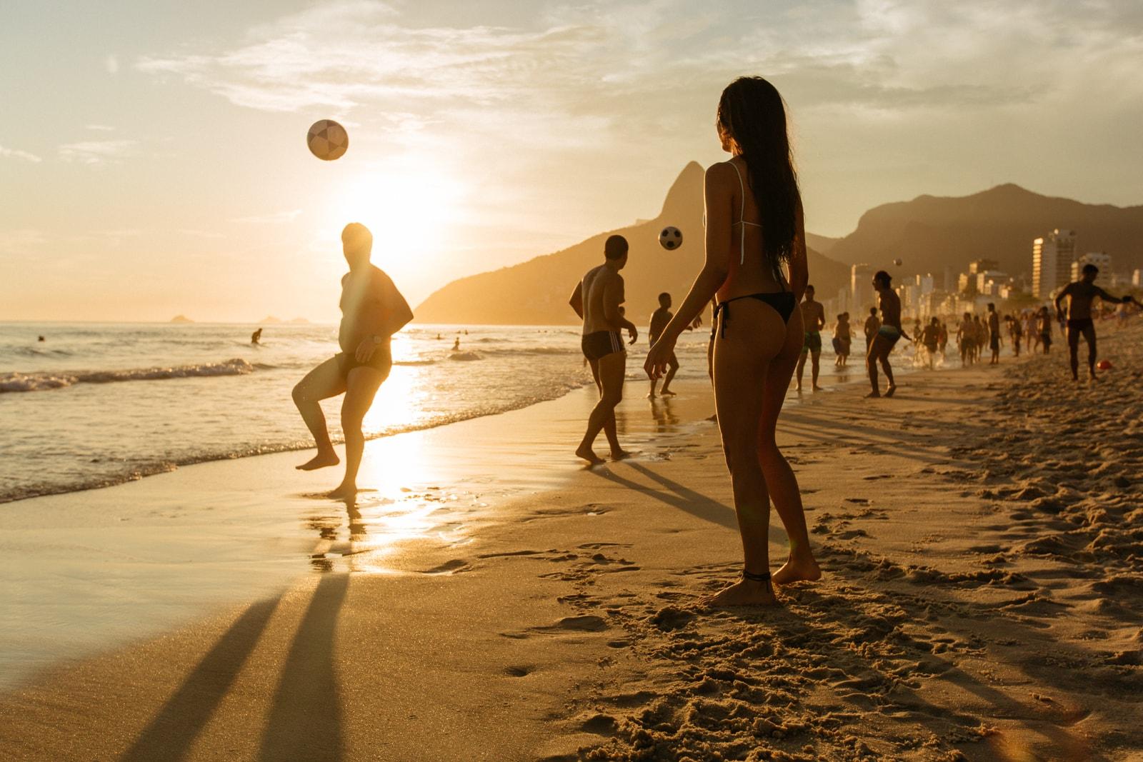 Young teen brazillian naked girls on nude beach