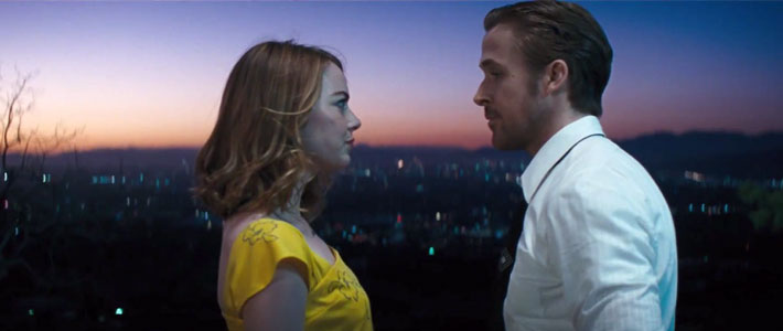 Emma Stone & Ryan Gosling/Courtesy of Lionsgate