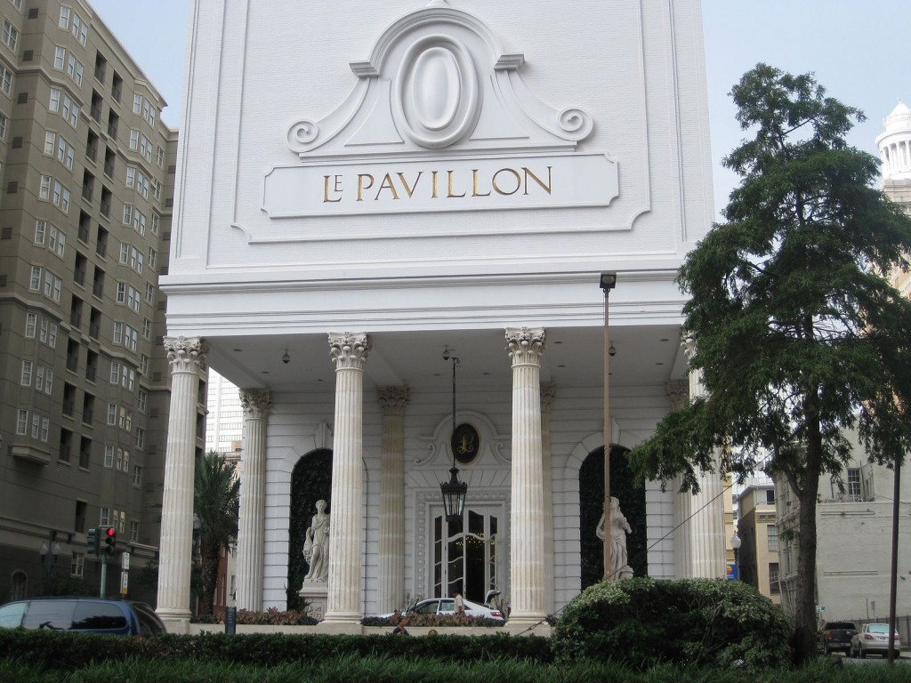 Le Pavillon Hotel in downtown New Orleans |© Gonk/WikiCommons