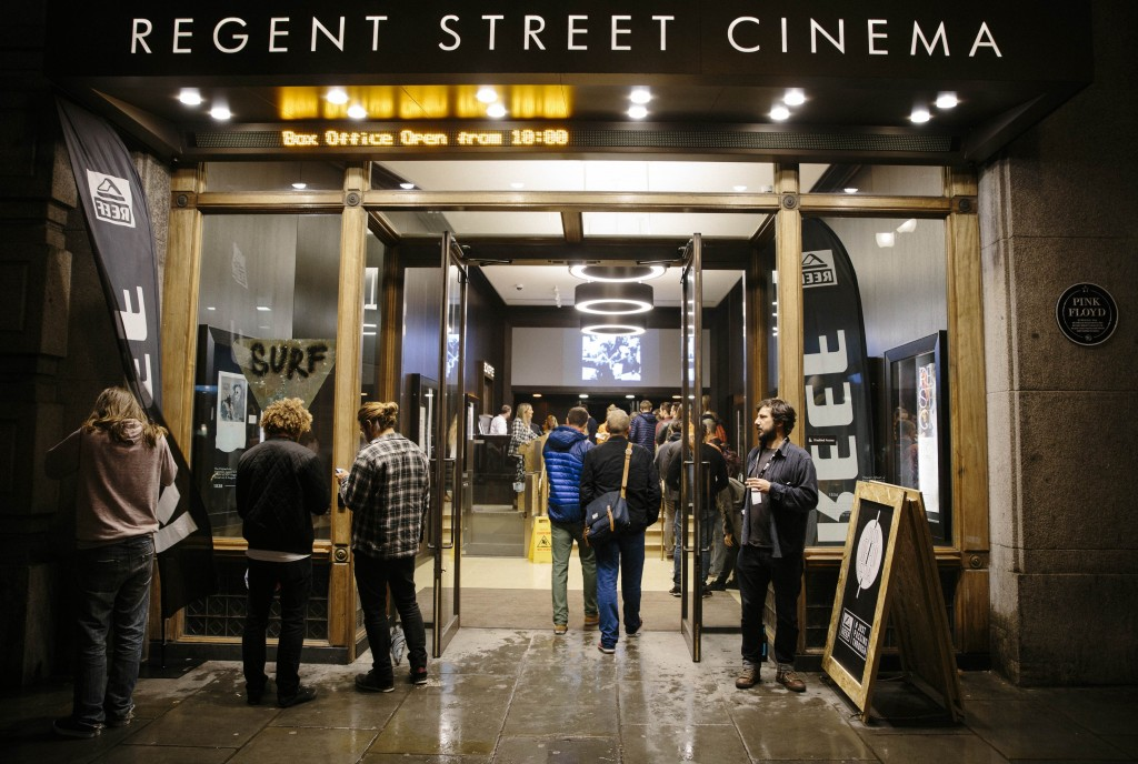 Regent Street Cinema will play host in the festival's 2nd weekend. | © Reef