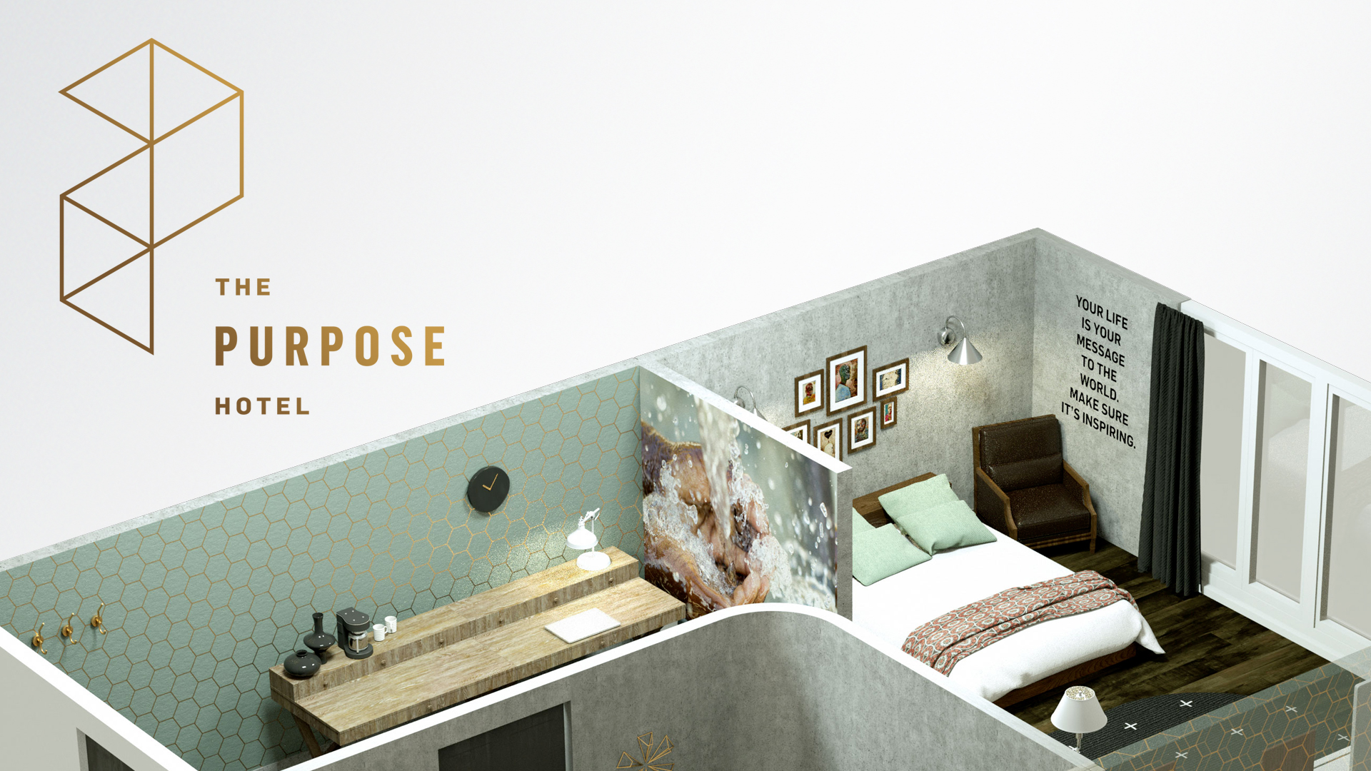 The Purpose Hotel  © Jeremy Cowart