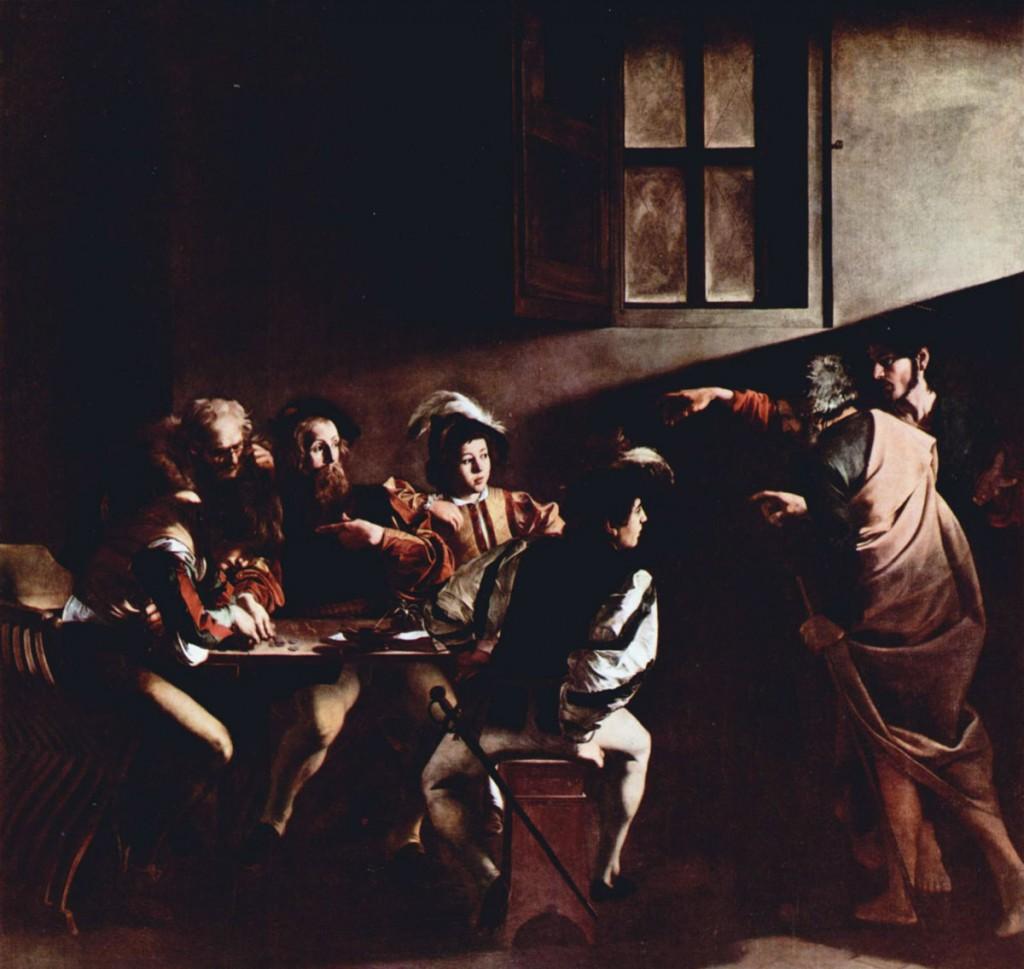 Caravaggio's The Calling of St Matthew   © WikiCommons