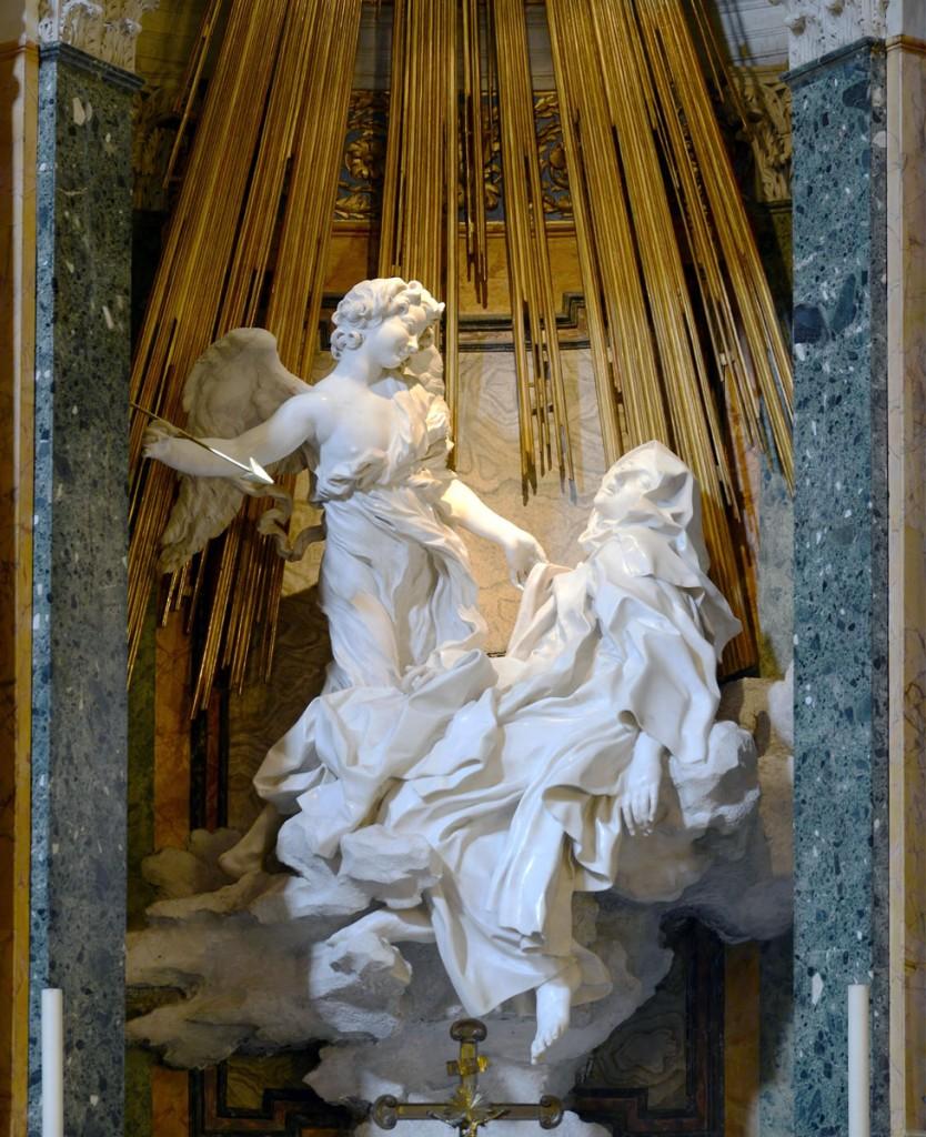 Bernini's The Ecstasy of Saint Teresa   © WikiCommons