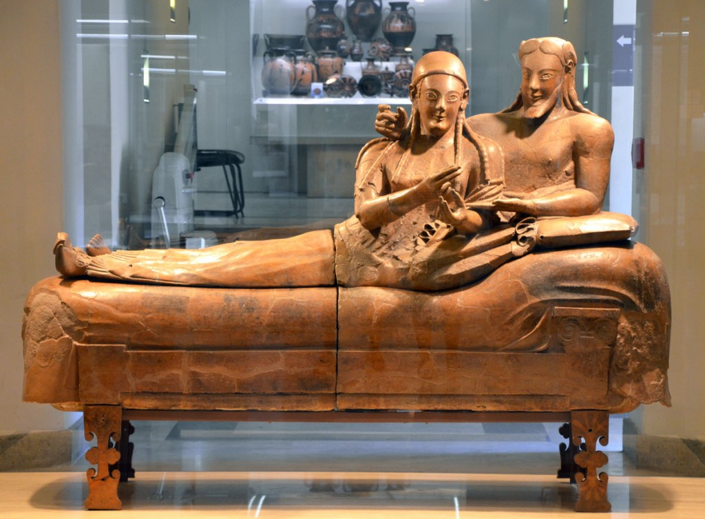 Sarcophagus of the Spouses   ©Flickr/Carole Raddato