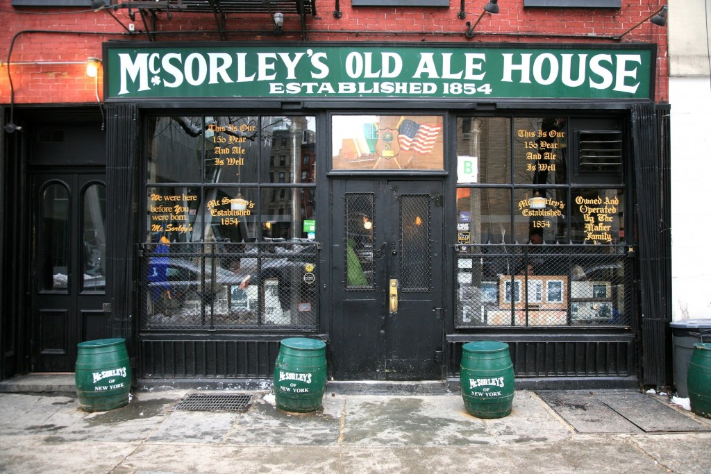 McSorley's Old Ale House | © Vincent Desjadins/Flickr