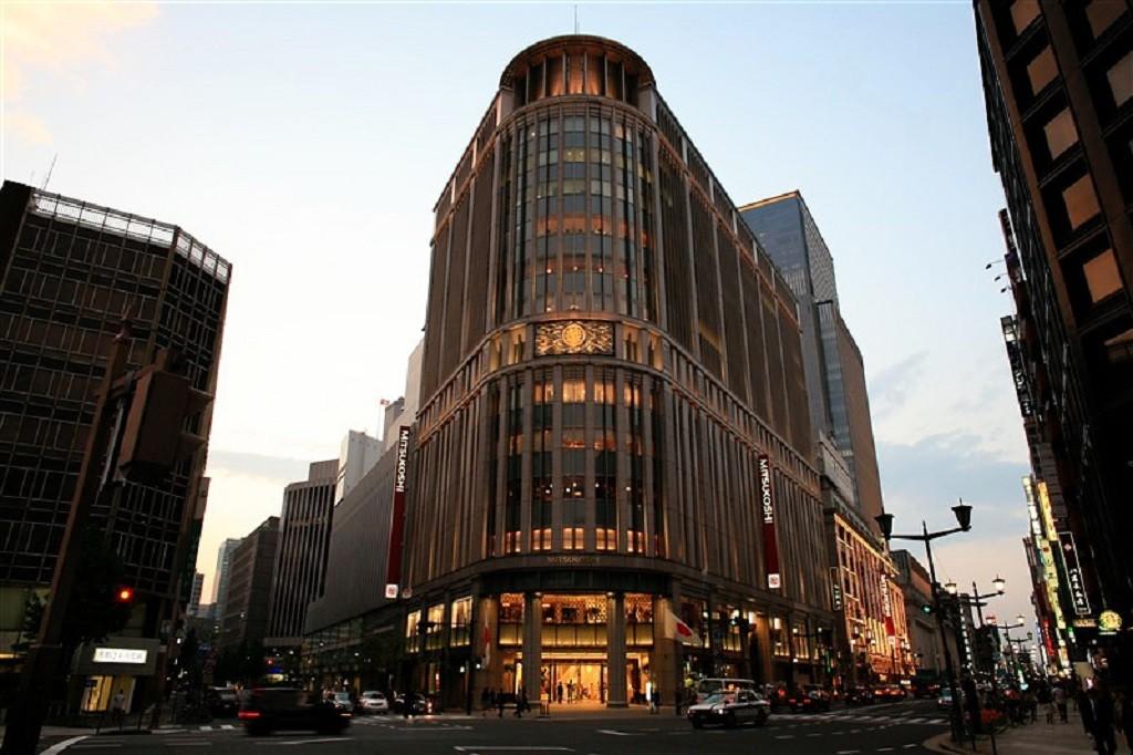 Mitsukoshi Department Store Headquarters in Ginza, Tokyo | © Angaurits/WikiCommons