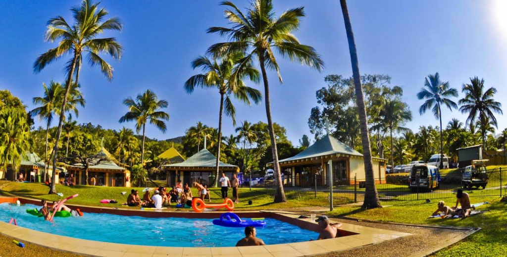 Onsite pool | Courtesy of Nomads Airlie Beach