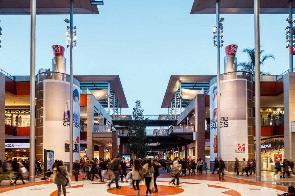 Located on the outskirts of Barcelona, La Maquinista is the largest of Barcelona's shopping centers © Courtesy of La Maquinista