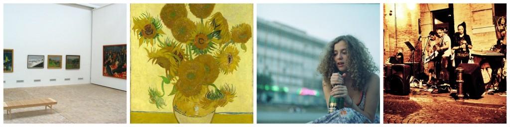 Art Exhibition   © Arne List/Flickr   Van Gogh   © Tonynetone/Flickr   Film   © Anton Nazarov/Flickr   Reggae   © Catherine Wilson/Flickr