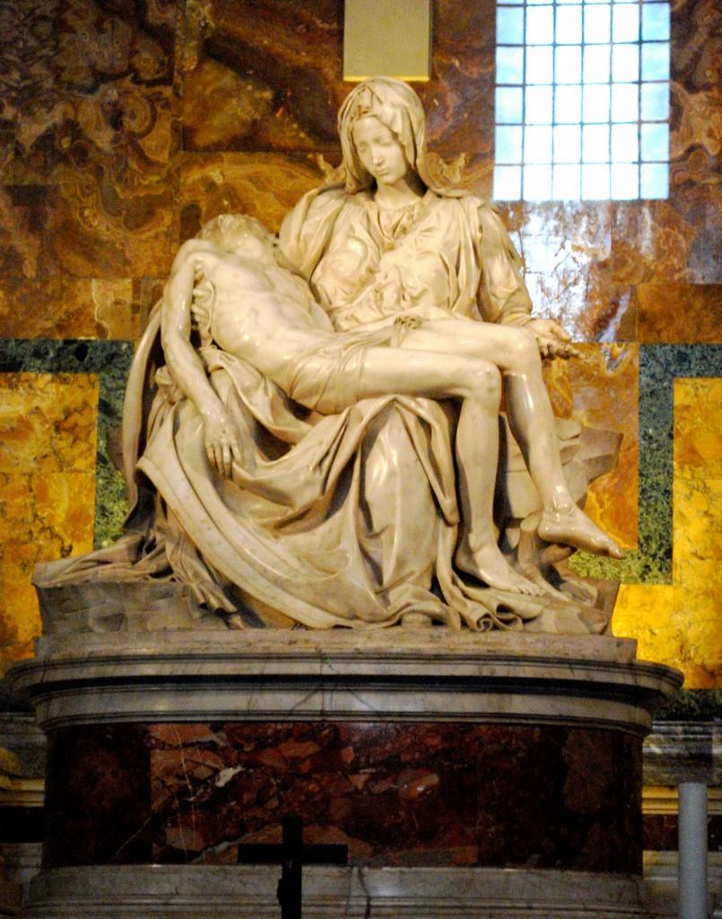 Michelangelo's Pietà   ©Flickr/Kevin Gessner