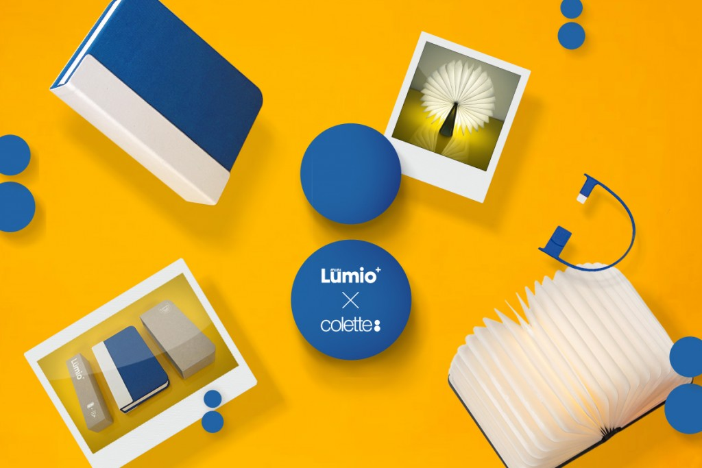 Portable lamp, Lumio, Max Gunawan, Lumio chez Colette │ Courtesy of Paris Design Week