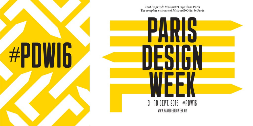 Poster for Paris Design Week 2016 │ Courtesy of Paris Design Week