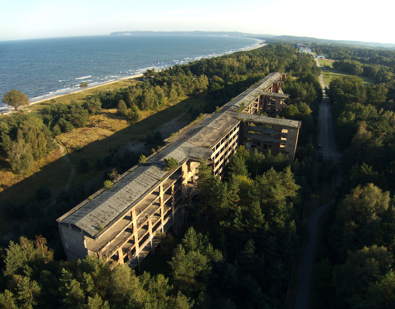Prora a former nazi holiday resort transformed into a for Nazi holiday resort
