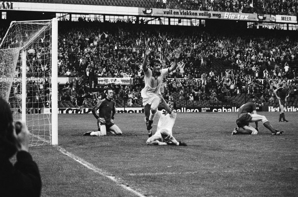 Ray Clarke after scoring a goal in 1979 | © Nederlands Nationaal Archief / WikiCommons