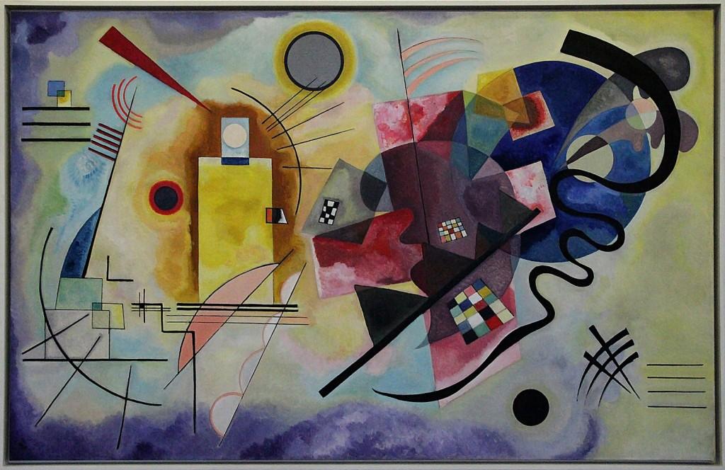 Red-Yellow-Blue – Kandinsky, 1925 │© Claude Valette