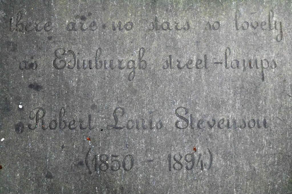 Robert Louis Stevenson Flagstone | Courtesy Of Tori Chalmers
