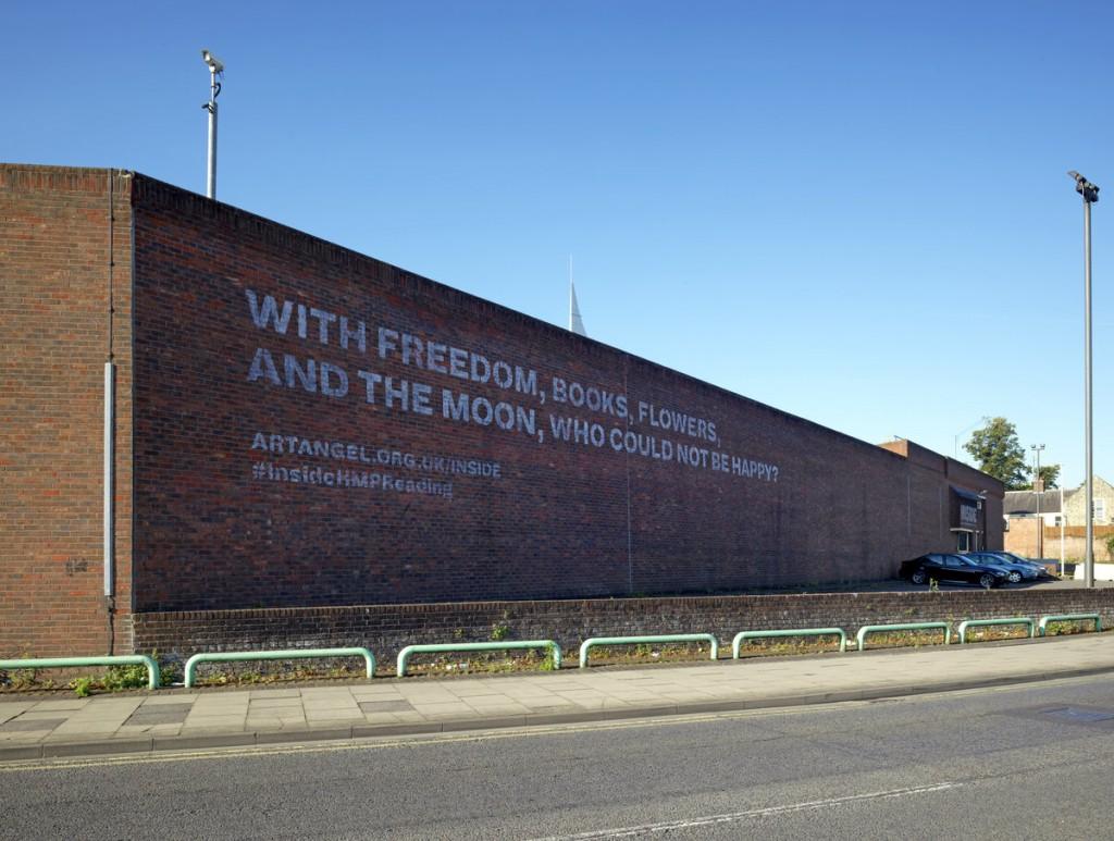 Inside Installation HM Prison Reading © Marcus J Leith/ Artangel
